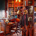 Macabre - In the Headhunters study Print by Mike Savad