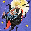 Mad Millie Moon Dance Print by Richard De Wolfe