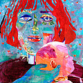 Madonna and Child Print by Diane Fine