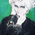 Madonna  Poster by Marianne Edwards