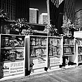 magazine stands free coupons guides and escort directories Las Vegas Nevada USA Poster by Joe Fox
