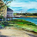 Maine Chowder House Print by Scott Nelson