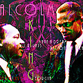 Malcolm and The King 20140205m68 with text Print by Wingsdomain Art and Photography