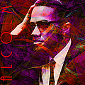 Malcolm X 20140105m28 with text Poster by Wingsdomain Art and Photography