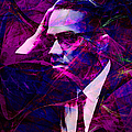 Malcolm X 20140105m88 Poster by Wingsdomain Art and Photography