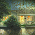 Manchster's Enchanted Evening Print by Cecilia  Brendel