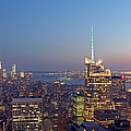 Manhattan Skyline from the Top of the Rock Print by Juergen Roth