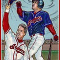 Manny Ramirez  being Manny  Poster by Ray Tapajna
