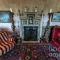 Mansion Sitting Room Print by Adrian Evans