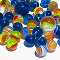 Marbles Print by Dale Jackson