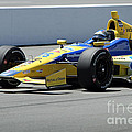 Marco Andretti Pits Poster by Bryan Maransky