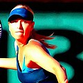 Maria Sharapova tennis by Lanjee Chee