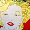 Marilyn Print by Ethna Gillespie