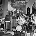 Martin Luther King Jnr 1929 1968 American black civil rights campaigner in the pulpit Print by James Earl Ray