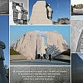 Martin Luther King Jr Memorial Collage 1 Poster by Allen Beatty