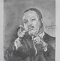Martin Luther King Jr Poster by Valdengrave Okumu