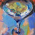 Martini Oil Painting Poster by Michael Creese