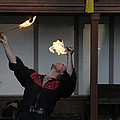 Maryland Renaissance Festival - Johnny Fox Sword Swallower - 1212105 Poster by DC Photographer
