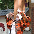 Maryland Renaissance Festival - Johnny Fox Sword Swallower - 121215 Print by DC Photographer