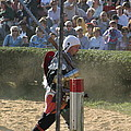 Maryland Renaissance Festival - Jousting and Sword Fighting - 1212119 Poster by DC Photographer