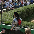 Maryland Renaissance Festival - Jousting and Sword Fighting - 1212198 Print by DC Photographer