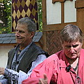 Maryland Renaissance Festival - Puke N Snot - 121210 Print by DC Photographer