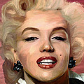 Marylin Monroe Print by James Shepherd