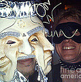 Masquerade Masked Frivolity Print by Feile Case