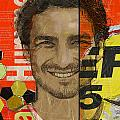 Mats Hummels Print by Corporate Art Task Force