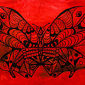 Max The Butterfly Print by Kenal Louis