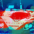 Mazda Le Mans Print by Irina  March