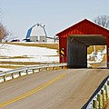 McColly Covered Bridge Print by Jack R Perry