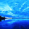 Meddybemps Blues 1 Print by Bill Caldwell -        ABeautifulSky Photography