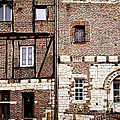 Medieval houses in Albi France Poster by Elena Elisseeva
