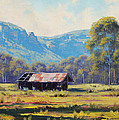 Megalong Valley Shed Print by Graham Gercken