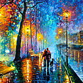 melody of the night Print by Leonid Afremov