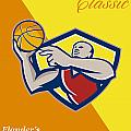 Memorial Day Basketball Classic Poster Poster by Aloysius Patrimonio