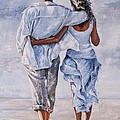 Memories of love Print by Emerico Imre Toth