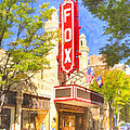 Memories of the Fox Theatre Print by Mark E Tisdale