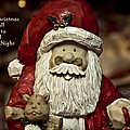 Merry Christmas To All Print by Trish Tritz