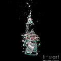 Message in sinking bottle Print by Simon Bratt Photography LRPS