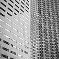 Miami Architecture Detail 2 - Black and White Print by Ian Monk