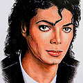 Michael Poster by Andrew Read