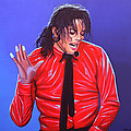 Michael Jackson 2 Print by Paul  Meijering
