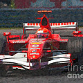 Michael Schumacher Canadian Grand Prix I Poster by Clarence Holmes