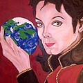 Michael's World Poster by Lorinda Fore
