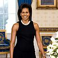 Michelle Obama Print by Official White House Photo