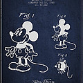 Mickey Mouse patent Drawing from 1930 Print by Aged Pixel