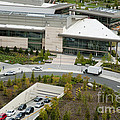 Microsoft Corporate Headquarter's West Campus Redmond WA Print by Andrew Buchanan via Latitude Image