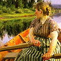 Midsummer 1891 Print by Anders Zorn